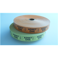 Roll Tickets - Admit One