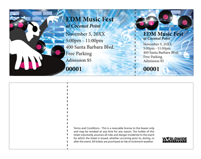 EDM Festival Tickets