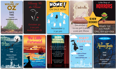 Design It Yourself 12 X 18 Broadway Posters