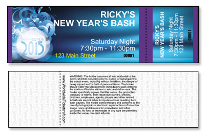 New Year's Eve General Admission Tickets