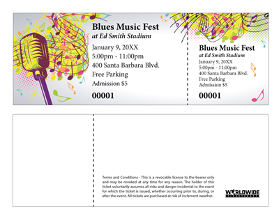 Blues Music Festival Tickets