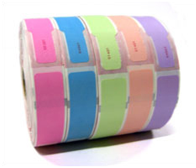 "Stock Thermal Wristbands 1"" x 11"""