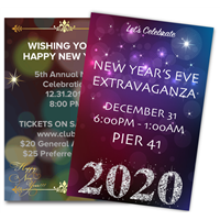 DIY New Year's Eve Themed Posters