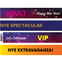 New Year's Eve Wristbands
