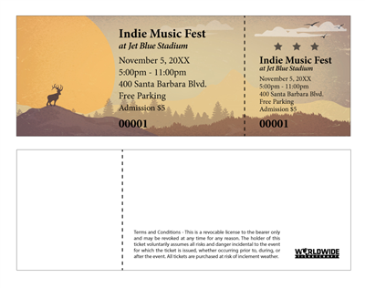 Indie Outdoor Music Festival Tickets