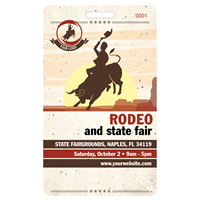 Rodeo Badges