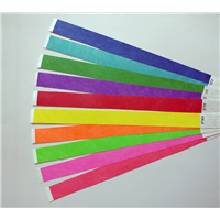 "1"" x 10"" Tyvek Wristbands - Solid Colors"