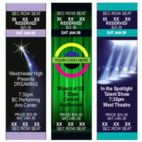 DIY Reserved Seating Performance Tickets